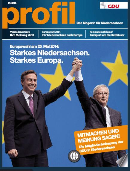 CDU Niedersachsen: Aktuell zur Europawahl