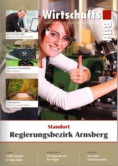 Wirtschaftsbild Verlag: Neues Regionalmagazin Regierungsbezirk Arnsberg