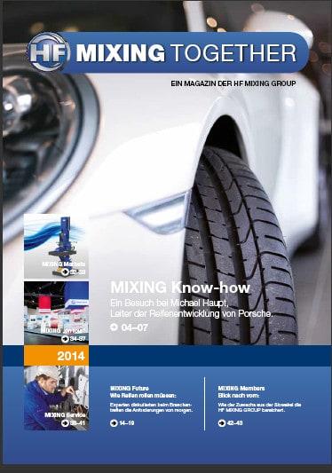 Im Auftrag der Welke Consulting Gruppe: Mixing Together, das Magazin der HF Mixing Group