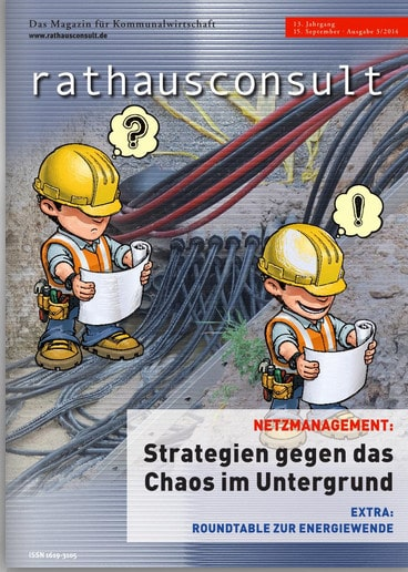 Titelbild Rathausconsult - Magazin für Kommunalwirtschaft Ausgabe 3 - 2014