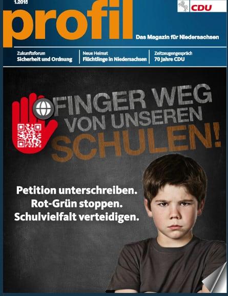 Jetzt neu: Meine Beiträge in PROFIL, dem CDU-Magazin Niedersachsens