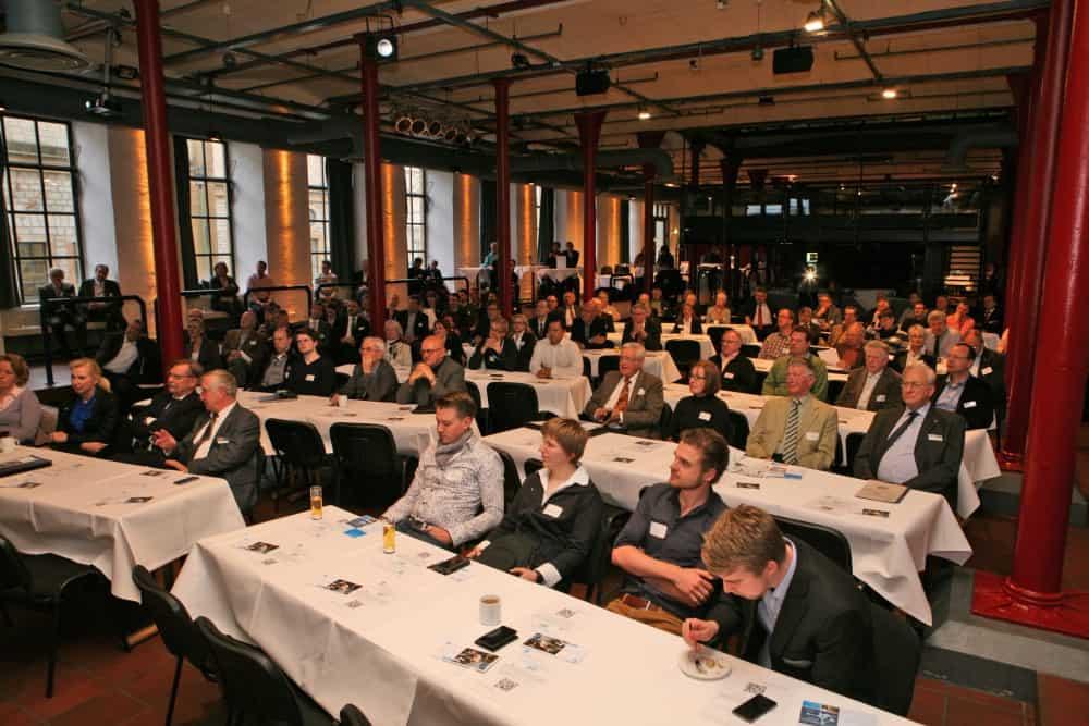 Der VDI OWL e.V. hat in der Ravensberger Spinnerei in Bielefeld zur Mitgliederversammlung geladen. Schwerpunktthema: Die Generation Y. Foto: Nitschke Fotografen