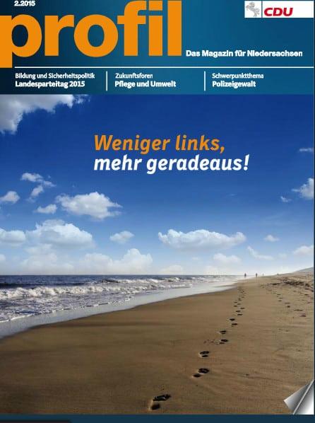 Jetzt erschienen: Meine Beiträge im CDU-Magazin PROFIL