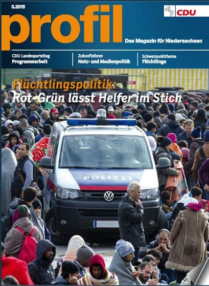 CDU Niedersachen: Meine aktuellen Beiträge im Magazin PROFIL