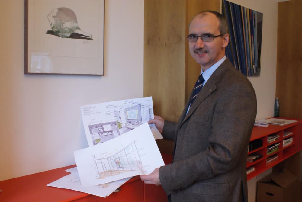 Lignatus-Inhaber Martin Hammelbeck.
