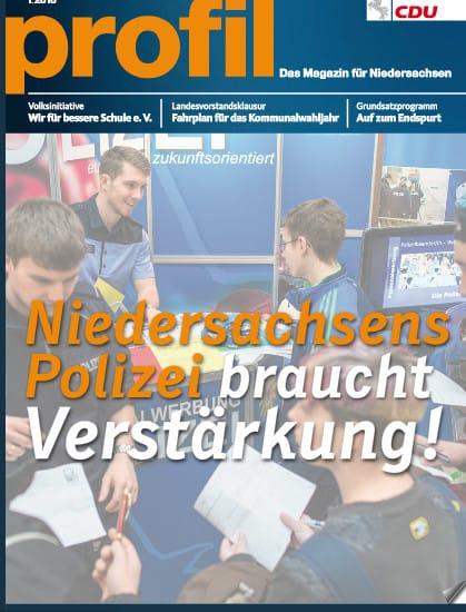 Magazin der CDU Niedersachsen: Bildung, Flüchtlinge & Zoo