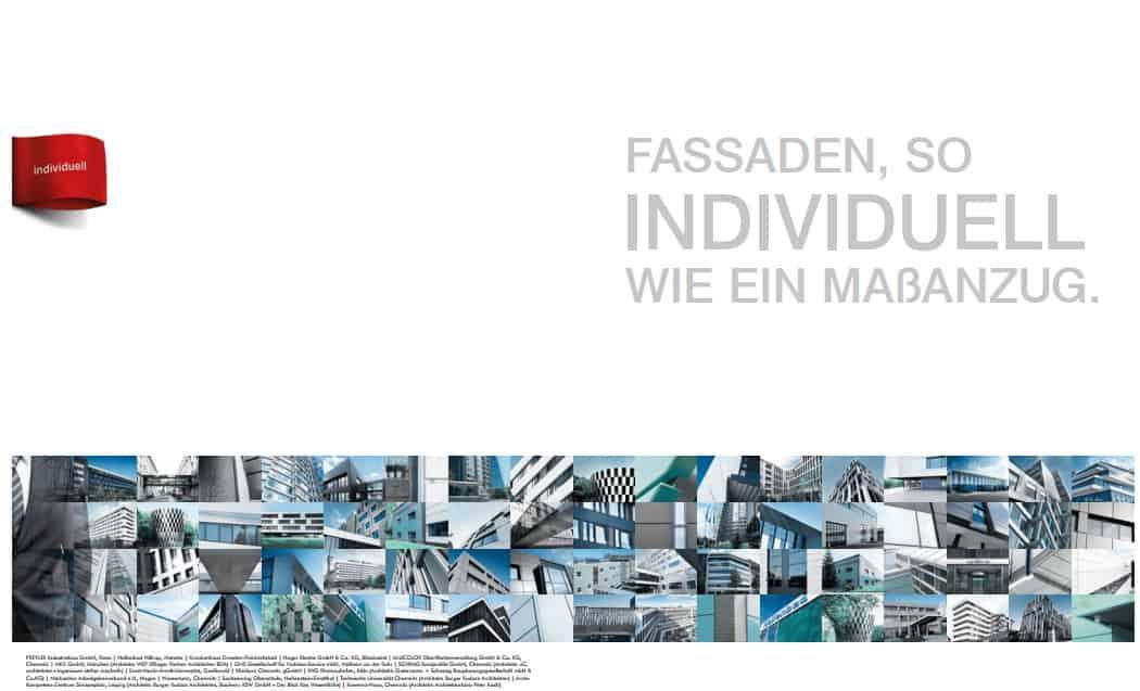 In Kooperation mit der Welke Consulting Gruppe: Frisches Outfit, knackige Texte -Imagebroschüre SCHRAG Fassaden