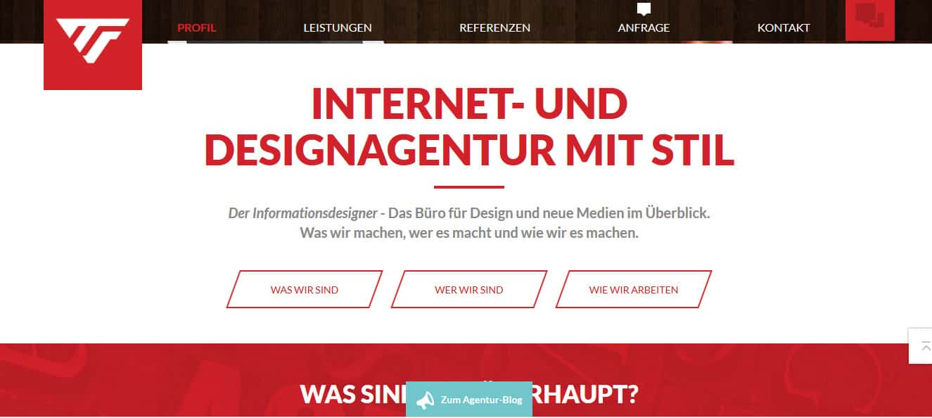 Der Informationsdesigner: Webtexte für Werbeagentur aus dem Allgäu