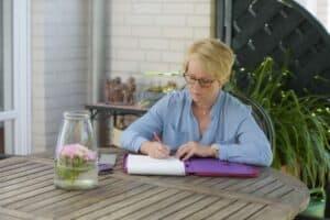 Für Sie im Einsatz als Texterin: Sabine Hense-Ferch