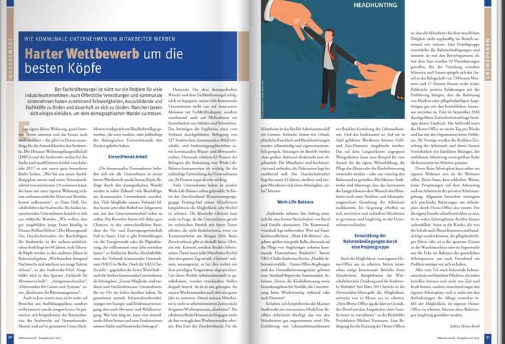Beitrag zum Fachkräftemangel in Rathausconsult 2/2017.