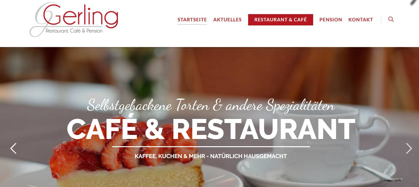 Café und Restaurant Gerling in Bad Westernkotten
