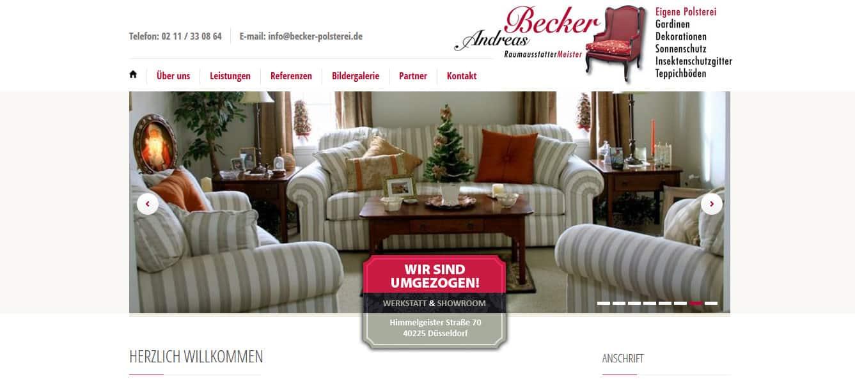 SEO-Webtexte für becker-polsterei.de