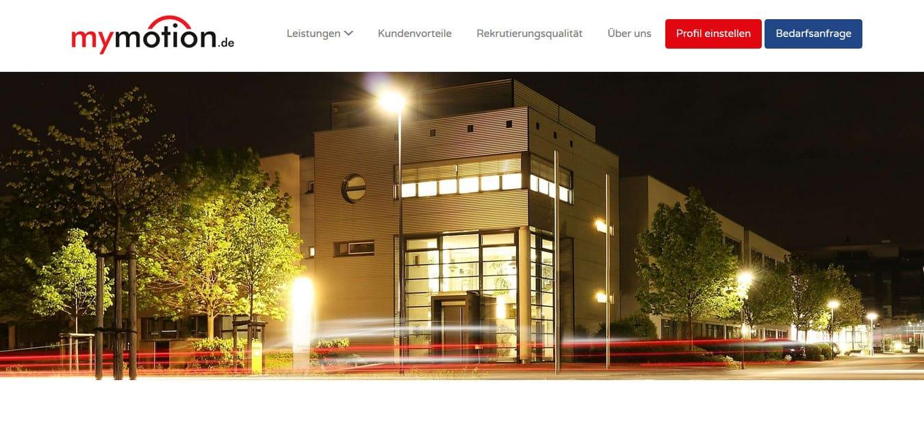 Neue, suchmaschinenoptimierte Webtexte für mymotion.de