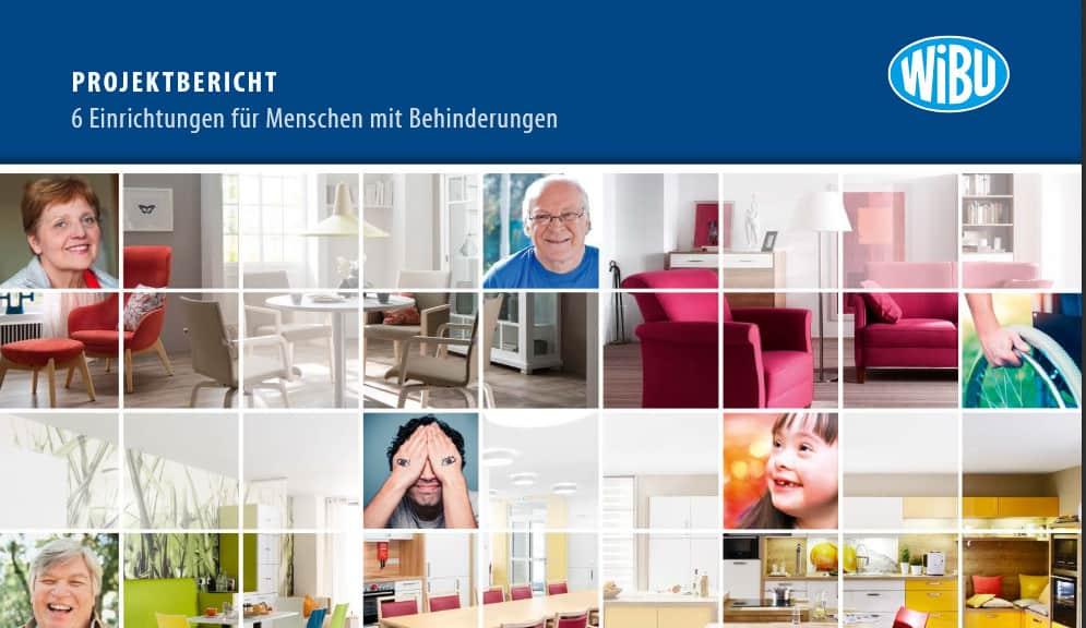 Broschüre der Behinderteneinrichtungen der WIBU-Objekteinrichtung.