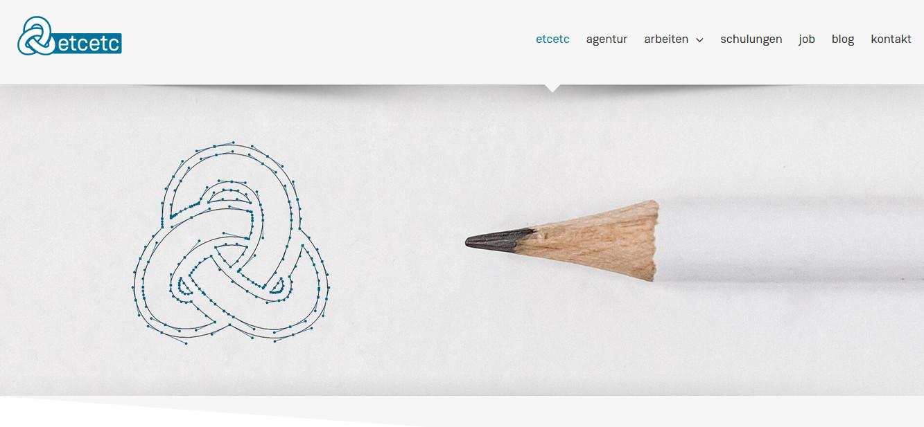 Neue Webseite von etcetc Werbeagentur aus Geseke