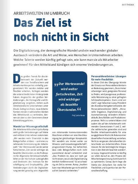 Mittelstandsmagazin 1 - 2019, S. 13