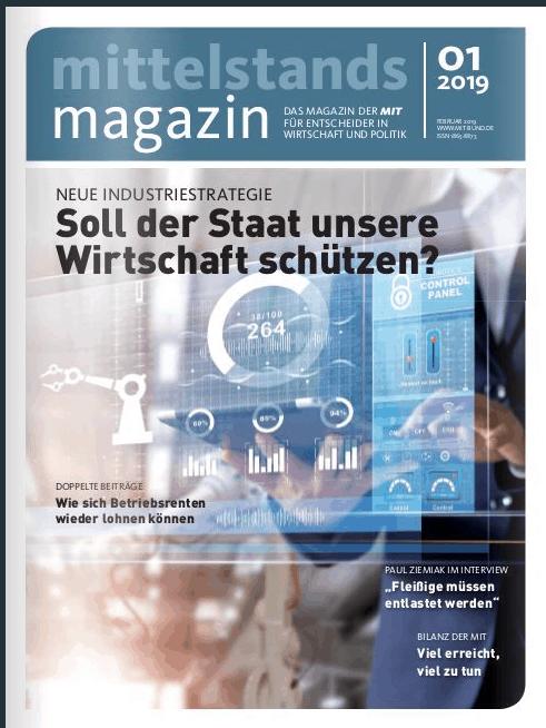 Arbeitswelten 4.0 – Magazinbeitrag fürs Mittelstandsmagazin