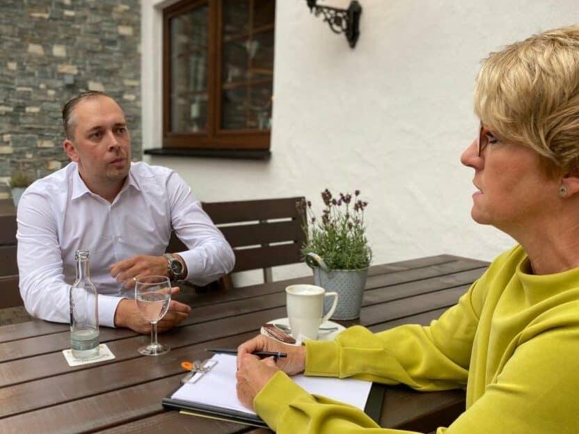 Interview als Mittel der Unternehmens-PR